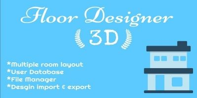 Floor Desinger - Design Your Floor in 3D PHP