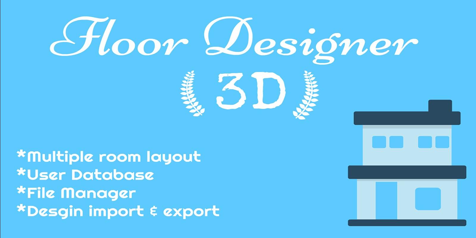 Floor Desinger - Design Your Floor in 3D PHP