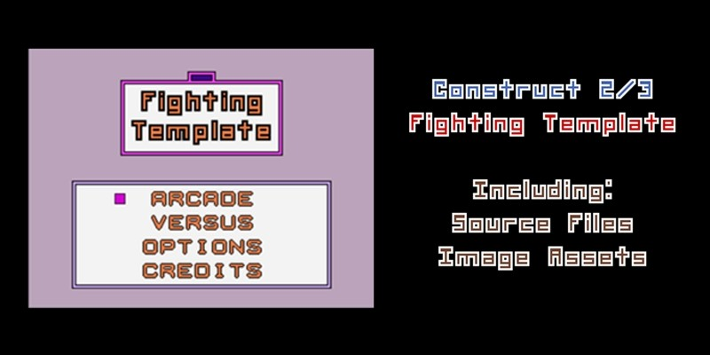 Fighting Game Template - Construct 3