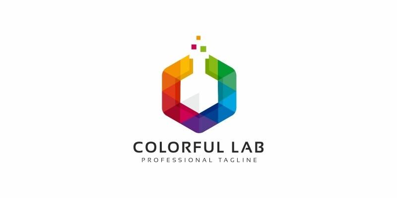 Colorful Lab Logo