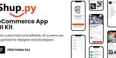 Shuppy Flutter eCommerce UI kit