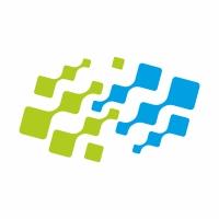 Connect Arrows Pixel Logo