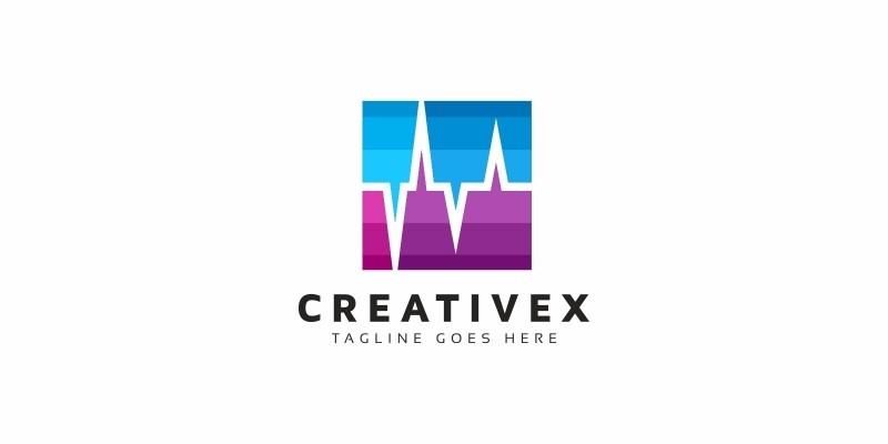Creative Sound Wave Logo