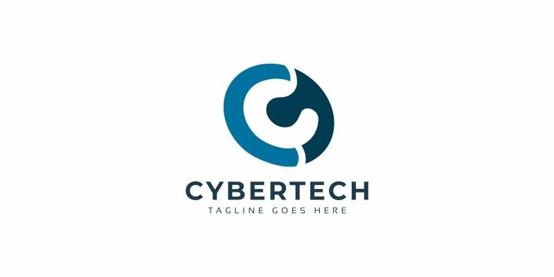 Cyber Tech C Letter Logo