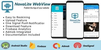 NovaLite WebView Android Source Code