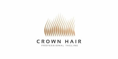 Crown Hair Logo