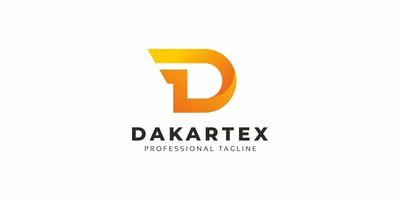D Wing Letter Logo