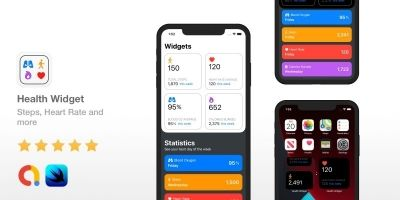 Health Widget - iOS 14 Source Code