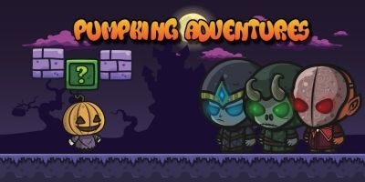 Pumpkin Halloween Adventures - Buildbox Project