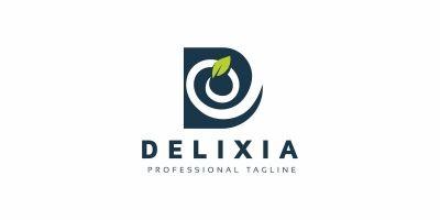 D Letter Leaf Logo
