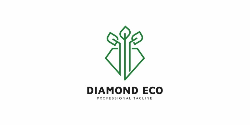 Diamond Eco Logo