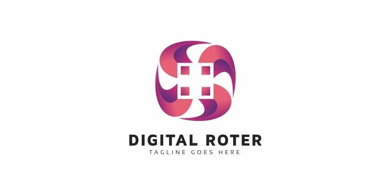 Digital Rotation Logo