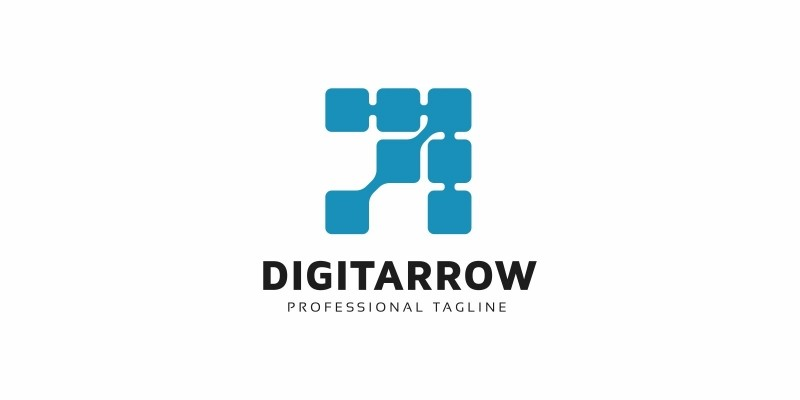 Digital Arrow Logo