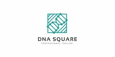 DNA Square Logo