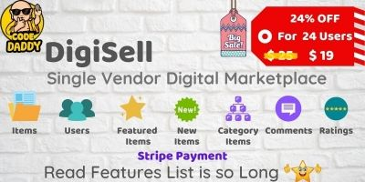 DigiSell - Single Vendor Digital Marketplace