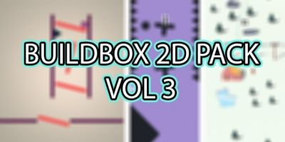 Buildbox 2D Pack - 4 in 1 - Vol 3