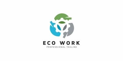 Eco Work Logo