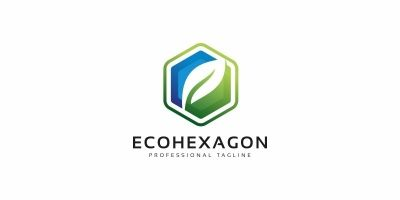 Eco Hexagon Logo