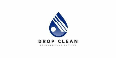 Drop Clean Logo