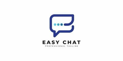 Easy Chat E Letter Logo