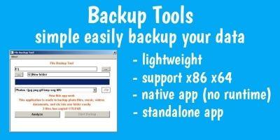 Backup Tool C++