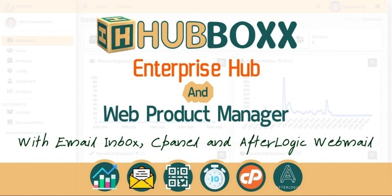 HubBoxx - Enterprise Hub and Web Product Manager