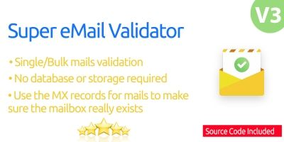 Super eMail Validator Full Source Code .NET