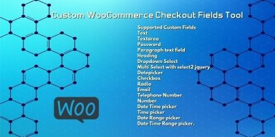 Custom WooCommerce Checkout Fields Tool
