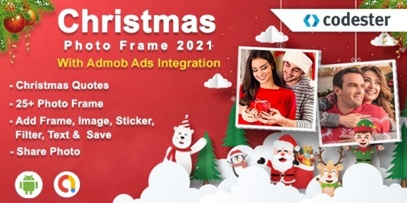 Android Christmas Photo Frame App Source Code