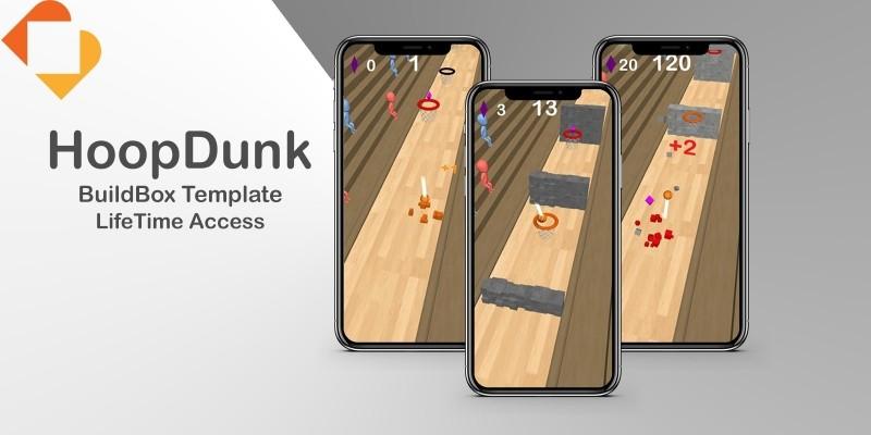 HoopDunk - Buildbox Template