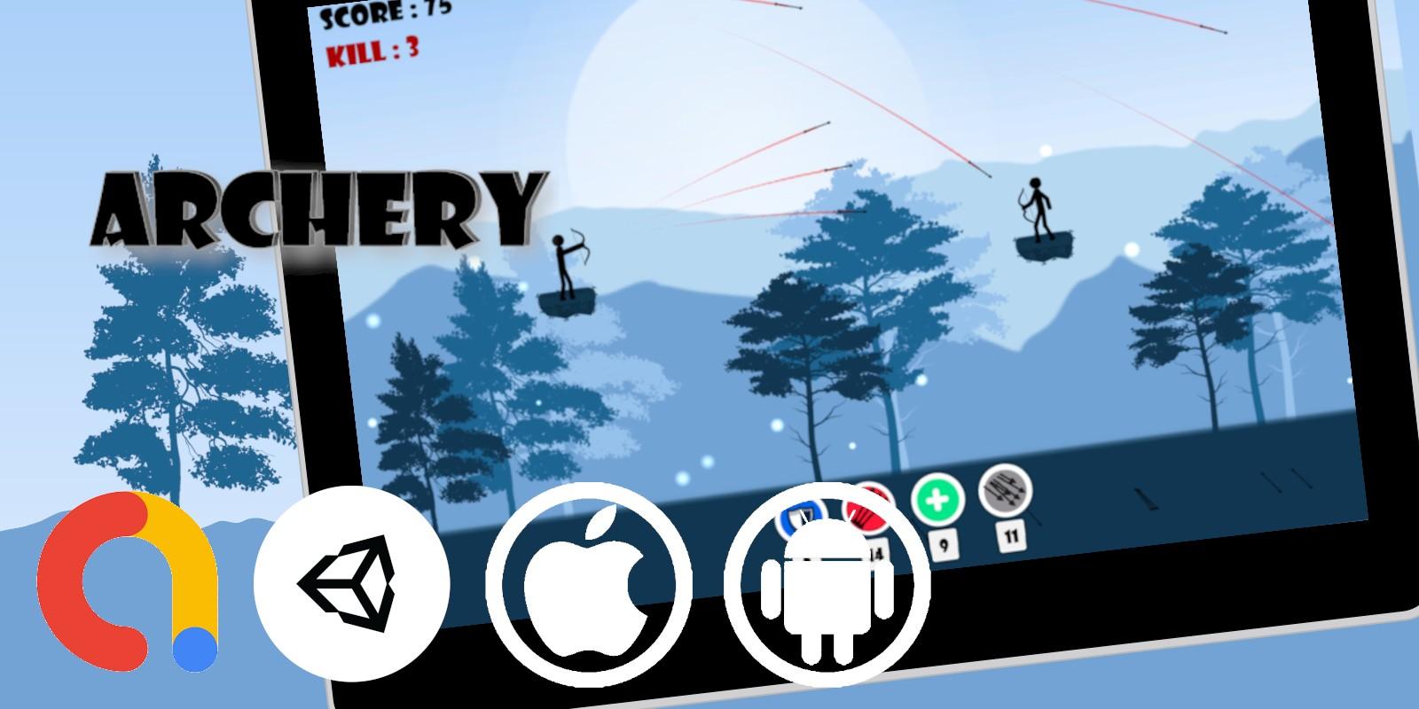 Archery Arrow Game for Unity With Admob