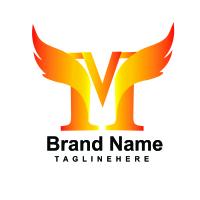 M Letter Bird Logo