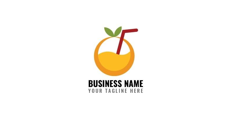 Orange Juice Shop Logo
