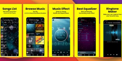 Photo Music MP3 Player Android Source code