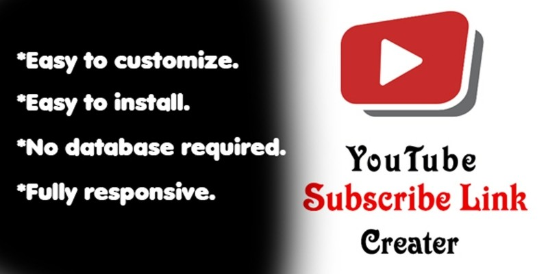 YouTube Subscribe Link Generator