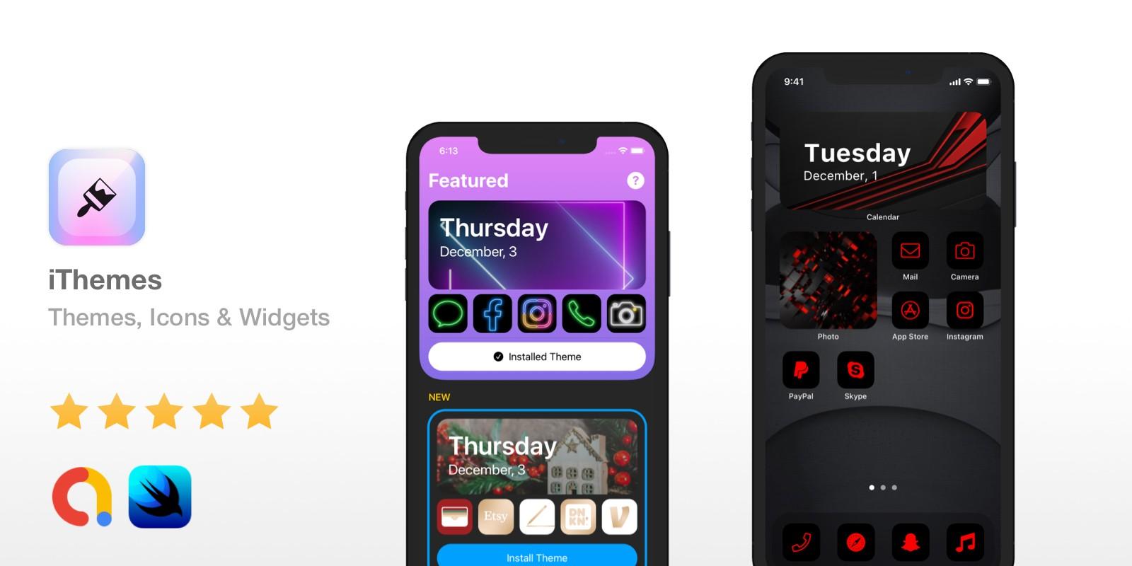 iThemes -  iOS 14 Themes Icons Widgets