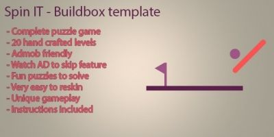 Spin IT - Buildbox template