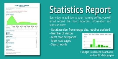 Statistics Report WordPress Plugin