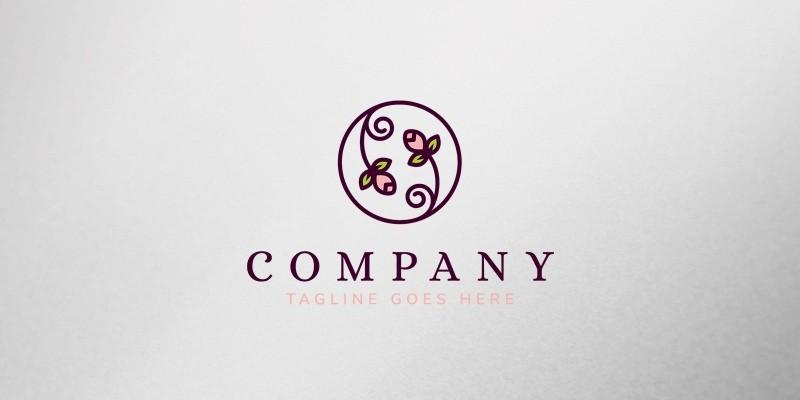 Flowers Logo Template