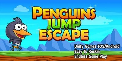 Penguin Jump Escape - Complete Unity Project