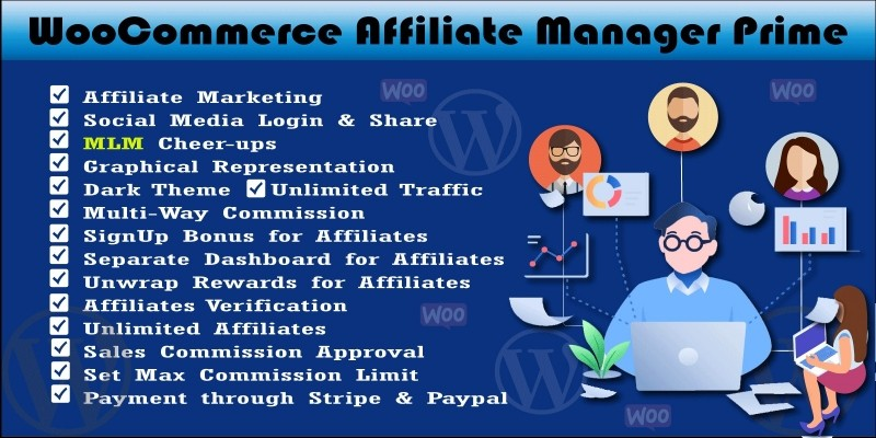 WooCommerce Affiliate Manager Prime