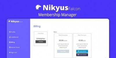 Nikyus - Membership Manager PHP Script