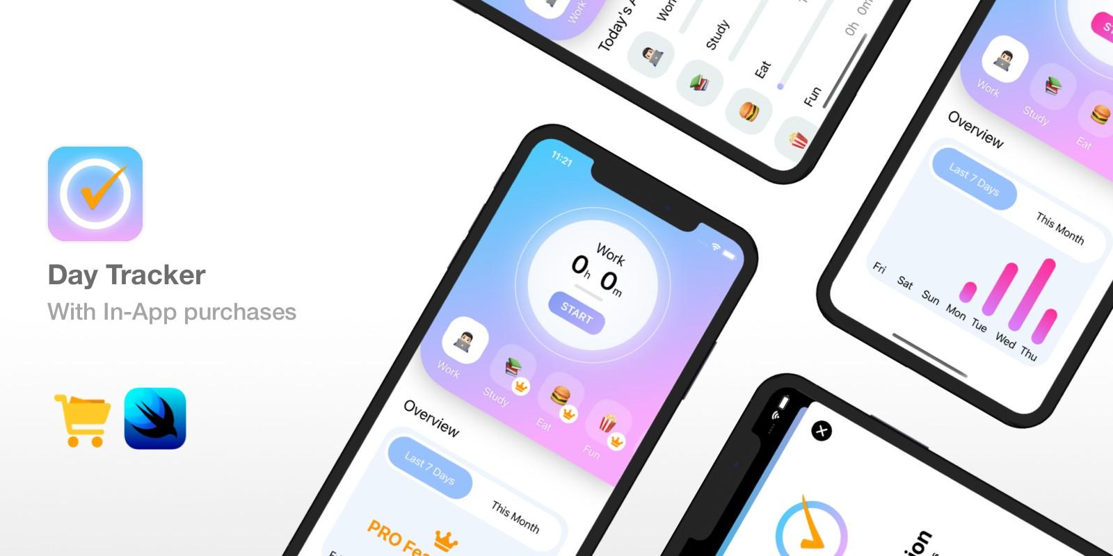 Day Tracker - iOS 14 Activity Tracker