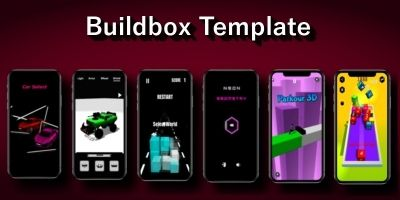 Buildbox Template Bundle - 6 Games