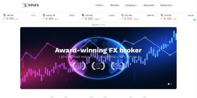 FINFX - Forex and Stock Broker HTML Template