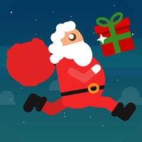 Santa Delivery - Full Buildbox Game