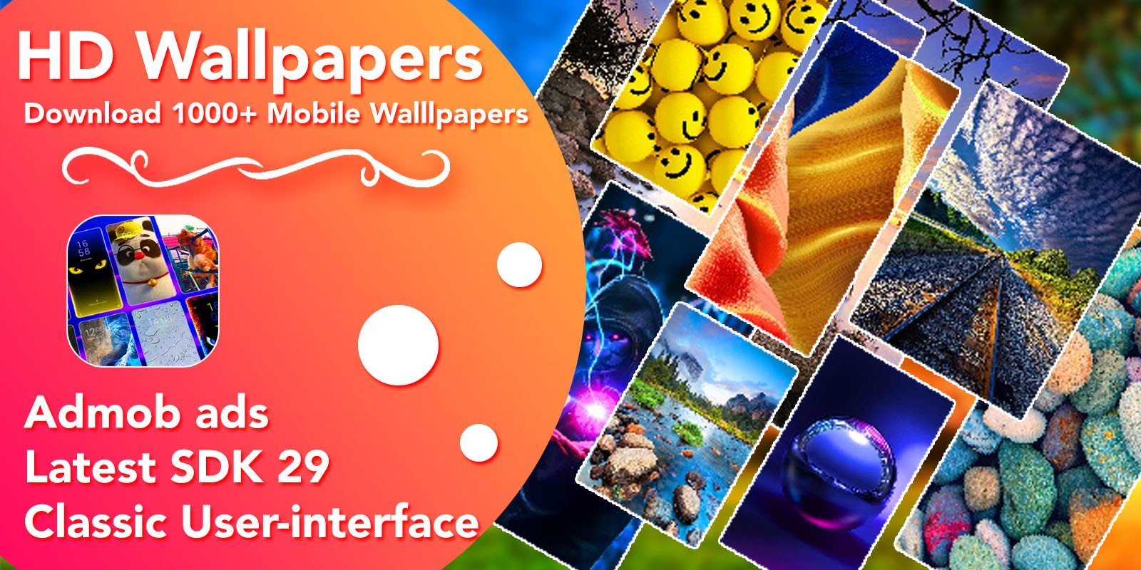 HD Wallpaper App For Android With Admob Ads
