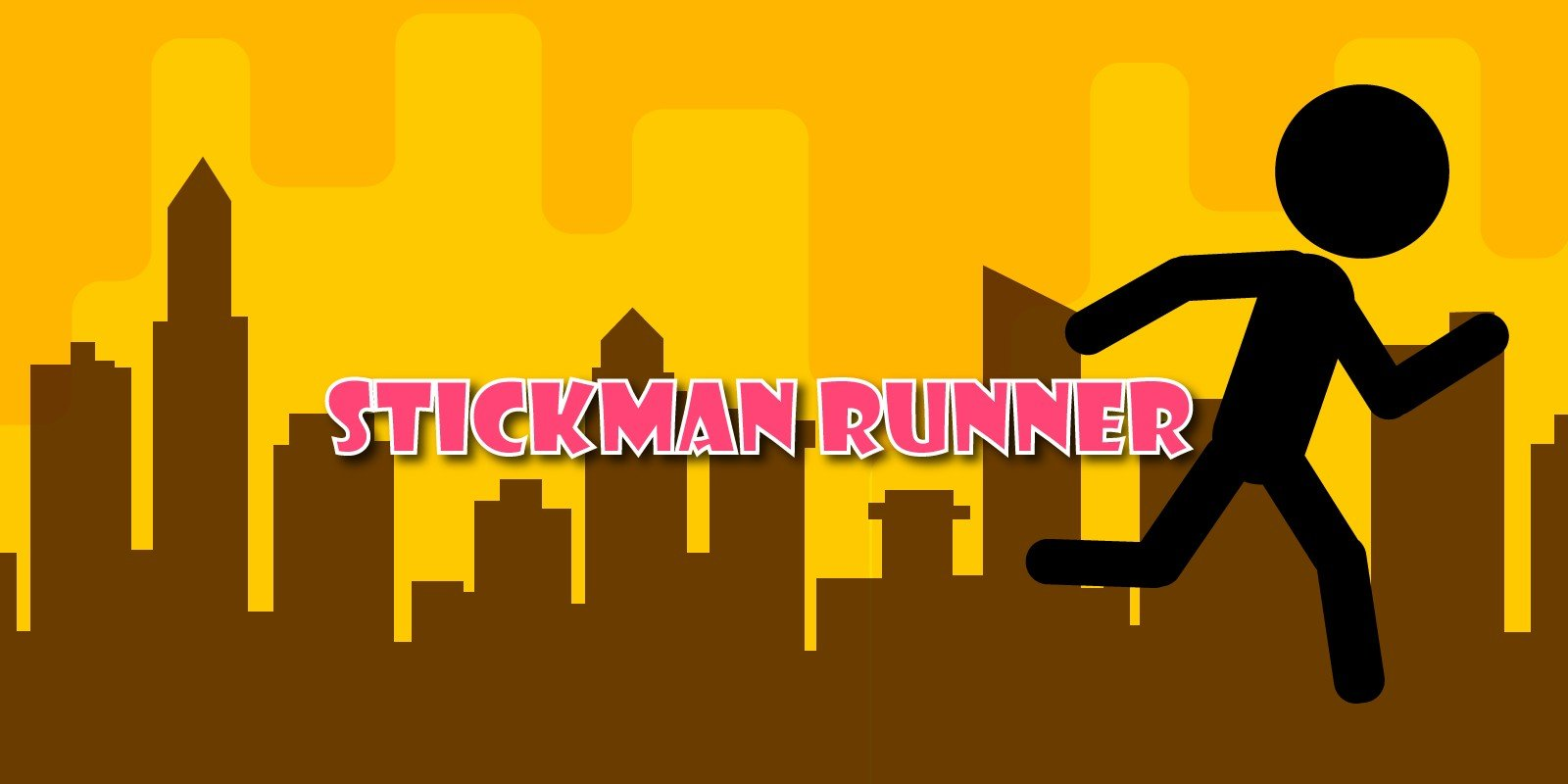 Stickman Runner Casual Unity Project