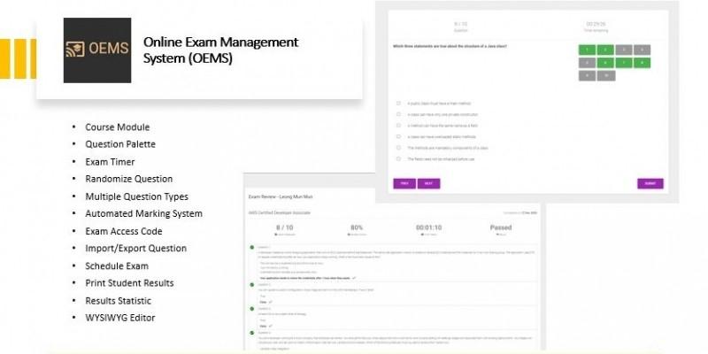 Online Examination Management System