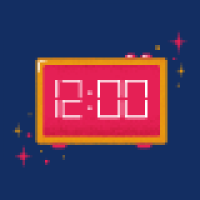 Modern Digital Clock - Javascript